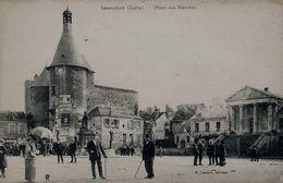 Issoudun (36) - Place Des Marché - Issoudun