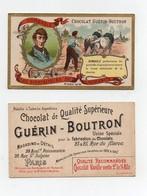 CHROMO Chocolat Guérin- Boutron Champenois Les Bienfaiteurs De L'humanité Dombasle Agriculture Charrue - Infantes
