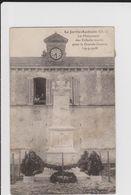 CARTE POSTALE   LA JARRIE AUDOUIN 17  Le Monument Des Enfants Morts Pour La Grande Guerre - France