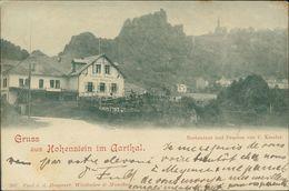 AK Hohenstein Im Aartal Taunus, Restaurant Und Pension Von C. Kessler, O 1898 (29155) - Andere
