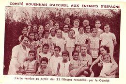 76 Comité ROUENNAIS D'Accueil Aux Enfants D'Espagne - Rouen