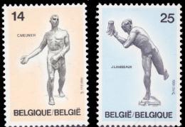 Belgium 2400/01**  Sculpture  MNH - Belgique