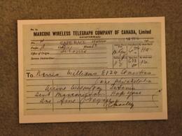 WHITE STAR LINE TITANIC WIRELESS TELEGRAPH - MARINE ART CARD NO 3 - Dampfer