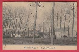 Bienne-lez-Happart - La Place Communale ( Voir Verso ) - Lobbes