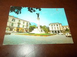 B681  Cava Dei Tirreni Salerno Piazza Municipio Viaggiata Presenza Leggera Piega - Cava De' Tirreni