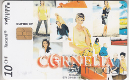 SUISSE - PHONE CARD - TAXCARD-PRIVÉE - CHIP- KC98   ***  CORNELIA - MODE *** - Switzerland