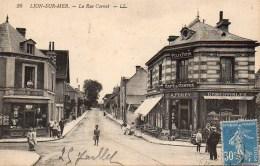 14 LION-sur-MER  La Rue Carnot - Frankrijk