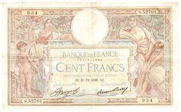 Billet > France >1936  > Valeur 100 - 1871-1952 Antiguos Francos Circulantes En El XX Siglo