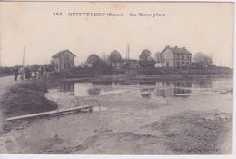27 - QUITTEBEUF  - LA MARE PLATE - France