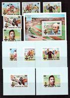 Chad-1978,(Mi.841-845,Bl.74) + 5 Luxe ,Football, Soccer, Fussball,calcio,MNH - World Cup