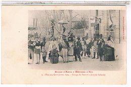 ARTS ET METIERS  D AIX  FETE  DES  CENT JOURS  1904 GROUPE  DE PIERROTS  JACQUES LEBAUDY   TBE  FO1257 - Aix En Provence