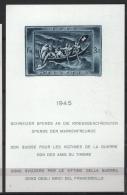Svizzera 1945 Unif. BF 11 **/MNH VF - Blocs & Feuillets