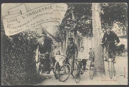 CPA Pub - Lisez L'Industrie - Revue Technique - Vélocipédique Et Automobile - Voir 2 Scans Larges - Cartes Postales