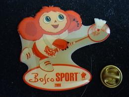 Russian Olympic Mascot - Badminton  - Beijing 2008 Olympics Pin Badge - Badminton