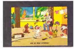 "TEM10050  -        WENDUINE  5.8.1969   /   ""  ZEE STRAND BOS DUIN "" - Humor"