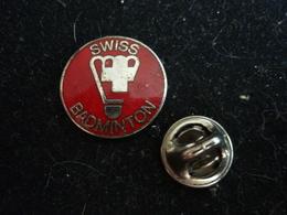 Swiss Badminton Federation  Pin Badge - Badminton