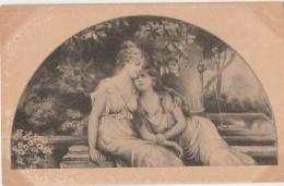 VIENNOISE (type) - Deux Jeunes Filles - Ill. Mac Kenzie - éd. Anglaise - Fontaine - Donne