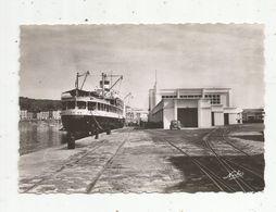 Cp , Bateaux ,  PAQUEBOT à Quai , 66 , PORT VENDRES , Ed. Narbo , N° 304, Vierge - Steamers