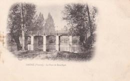 LIGUGE - VIENNE -  (86) - CPA PRÉCURSEUR DE 1901. - Frankreich