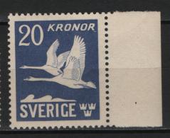 Svezia 1942 Unif.A7 **/MNH VF - Airmail