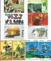 10 Télécartes Chine China (D 313) - Phonecards