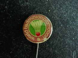 World Badminton Promotion - Pin Badge - Badminton
