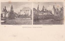 BONNES - VIENNE -  (86) - CPA PRÉCURSEUR 2 VUES DE 1901. - Frankreich