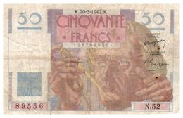 Billet > France >1947 > Valeur 50 - 1871-1952 Circulated During XXth