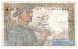 Billet > France >1947 > Valeur 10 - 1871-1952 Circulated During XXth