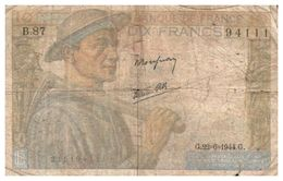 Billet > France >1944 > Valeur 10 - 1871-1952 Circulated During XXth