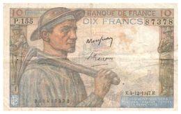 Billet > France >1947 > Valeur 10 - 1871-1952 Anciens Francs Circulés Au XXème