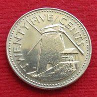 Barbados 25 Cents 1978 KM# 13 Barbade Barbades - Barbados