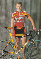 CYCLISME  GORIK GARDEYN  (LOTTO ADECCO) - Ciclismo