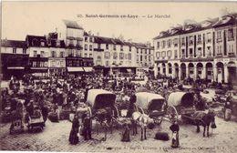 78 25 SAINT GERMAIN EN LAYE Le Marché - St. Germain En Laye