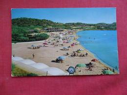 Vouliagmeni Astir Beach --Olympic Airways Greece - Has Stamp & Cancel   Ref 2871 - Greece