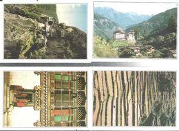 BHUTAN-N.4.-CARTOLINE VARI LUOGHI E VEDUTE-FG-N.4594 - Bhoutan