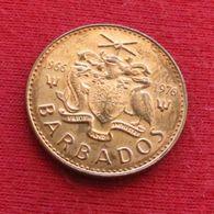 Barbados 1 Cent 1976 KM# 19 1966 - 1976 Barbades Barbade - Barbados
