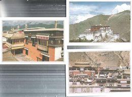 TIBET-N.3.-CARTOLINE VARI LUOGHI E VEDUTE-FG-N.4593 - Tibet