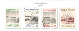 Rep.Dominicana PO 1959/60 Radhames Ponte Scott.518/521 Used See Scans On Scott.Page - Repubblica Domenicana