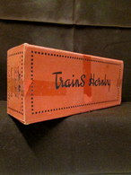 HORNBY (Meccano) Train N°1-5 Fourgon Jouet Toy Chemin De Fer Zug Boite Vide Box Empty ! - Meccano