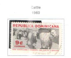 Rep.Dominicana PO 1960 Animali  Scott.531 Used See Scans On Scott.Page - Dominican Republic
