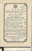 MA42/ ° ZICHEM 1796 + ZEMPST 1873  E.H.PETRUS THEYSKENS PASTOR:UKKEL LINKEBEEK ZEMST.. - Religion & Esotericism