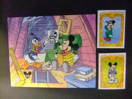ST. VINCENT The GRENADINES 1994 65 Aniversario De Mickey Album De Familia Yvert 2082 /83 + Bloc 263 ** MNH - Disney