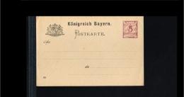 Bayern Postal Stationary - 5 Pfennig Unused [B03_110] - Beieren
