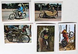 5 Stickers 1976 Moto TRIAL Bultaco Rod Searyin Husqvarna Gustavsson Album Motos Action Vanderhout - Motos