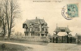 """CPA"""" BOURGTHEROULDE"""" Le Logis - Bourgtheroulde"""
