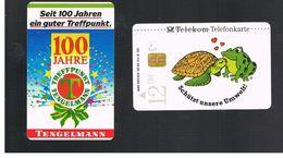 GERMANIA (GERMANY) -  1993 -  TANGELMANN         - USED - RIF.   49 - Tartarughe