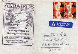 Norway Letter 2001 - Snips - Albatros - Norwegen