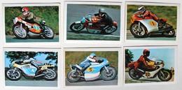 6 Stickers 1976 Moto Yamaha Suzuki Yawa Pons Rutter Findlay Nelson Grassetti Read Album Motos Action Vanderhout - Motos