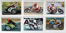 6 Stickers 1976 Moto Yamaha Honda MZ Yamsel Ivy Dieter Braun Ankoné Kanaya Cecotto Album Motos Action Vanderhout - Motos